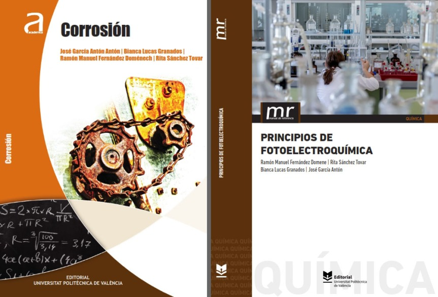 Nuevas publicaciones en Corrosión y Fotoelectroquímica